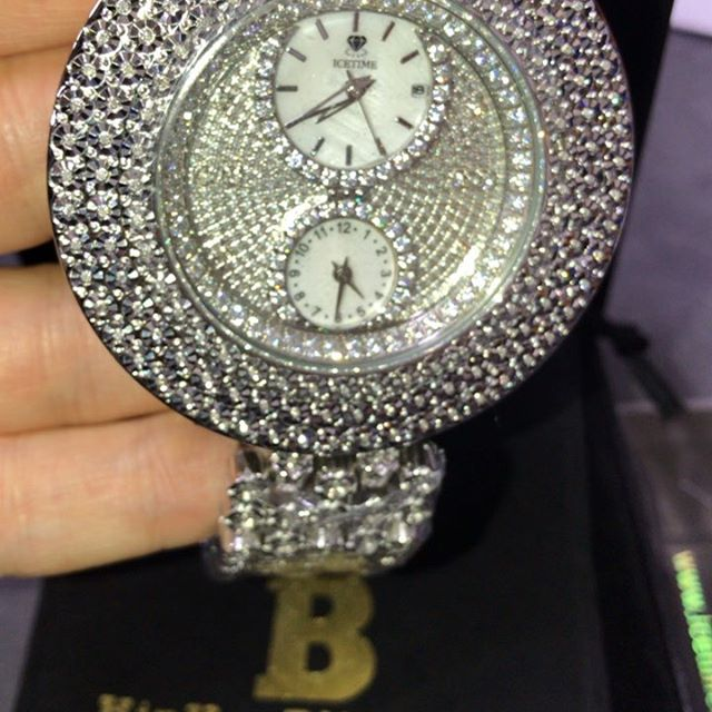 IceTime diamond watches for sale from Hip Hop Bling, iciest watches online.