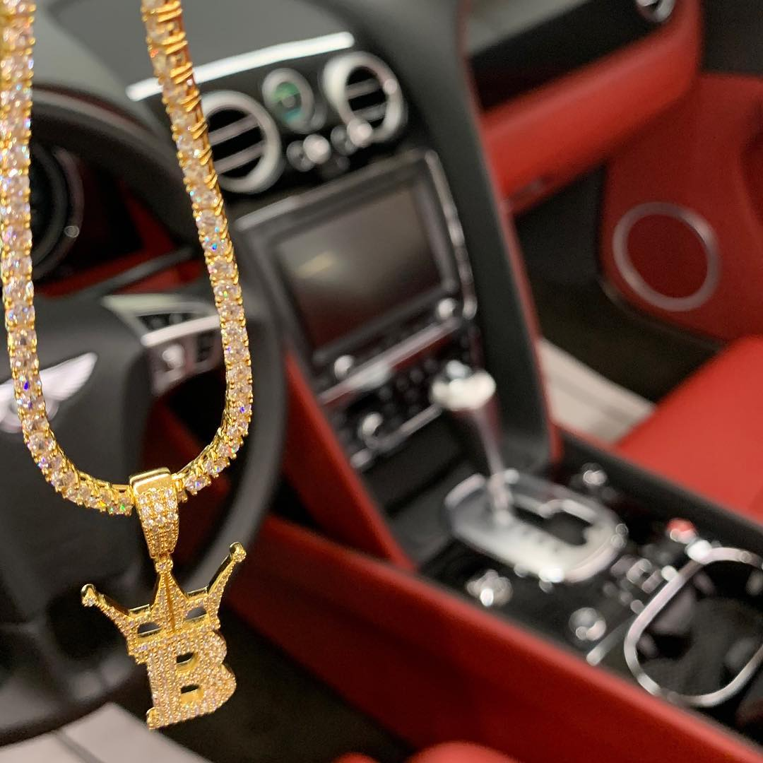Fire tennis chains in the Bentley, rep up with Hip Hop Bling