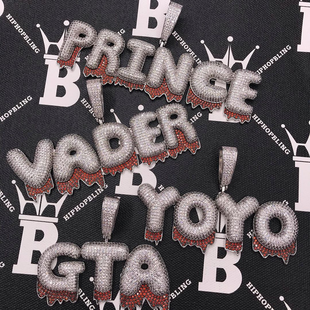 Fresh out of the oven iced out pieces, join us at Hip Hop Bling