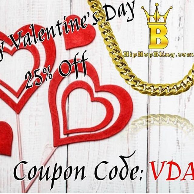 Celebrate that swagger on Valentines Day with Hip Hop Bling