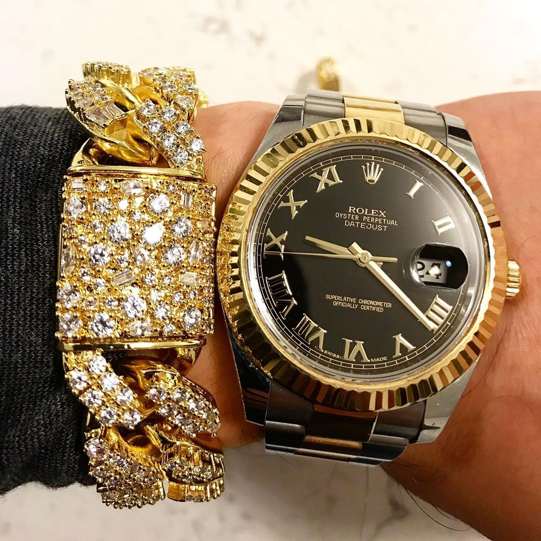 14K Diamond drenched custom pieces from Hip Hop Bling