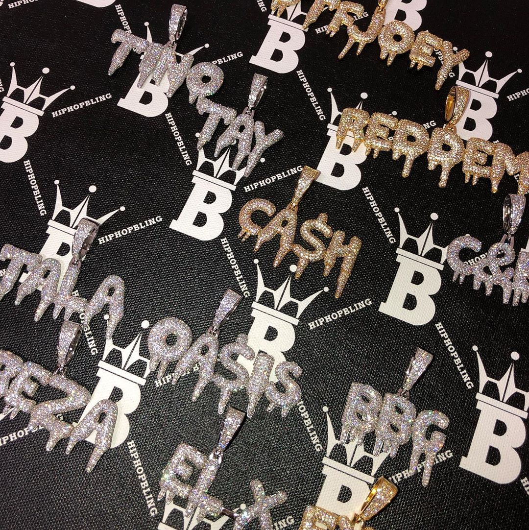 Fresh out of the oven, custom jewelry from Hip Hop Bling. Get yours today