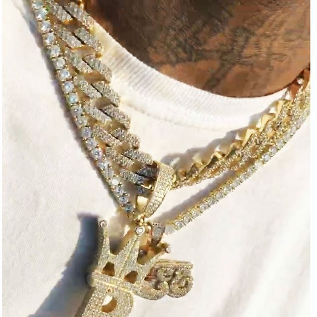 Shine bright today with the illest iced out jewelry from HipHopBling.com