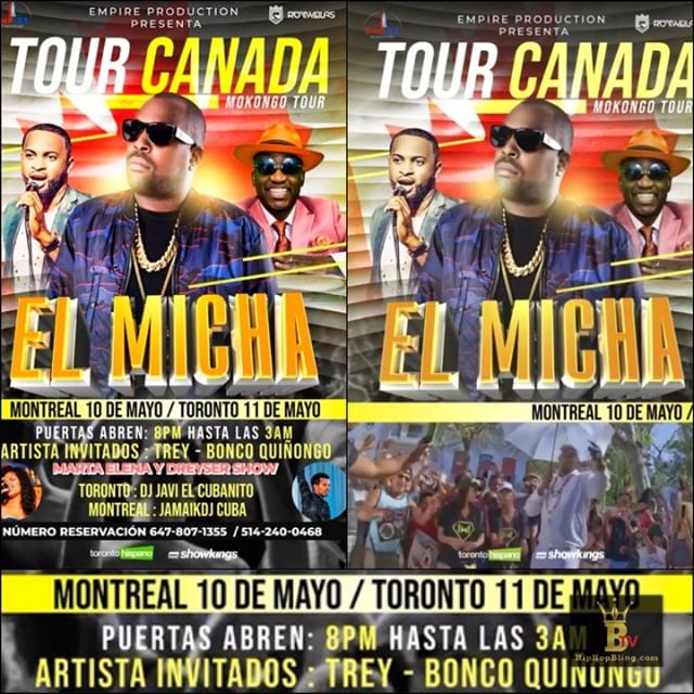 Mokongo Tour in Canada May 10th and 11th, get some! Hip Hop Bling TV