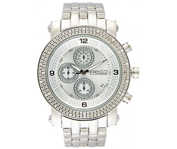 Silver Hip Hop Watches