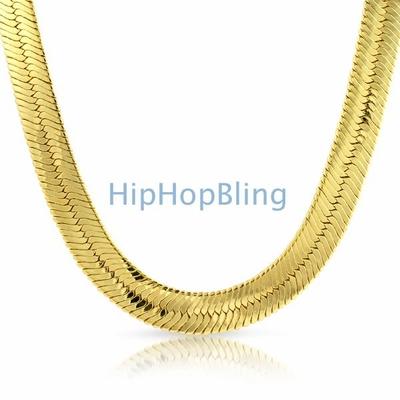 Classic Hip Hop Gold Chain