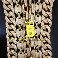 Up your chain game, cuban chains bubble marine chains, link chains and more