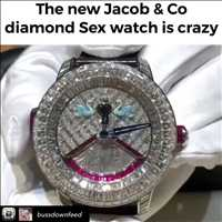 Diamond Sex watch absolutely CRAY - Hip Hop Bling TV