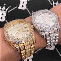 Perfect timing, iced out watches for the holidays! Only from Hip Hop Bling