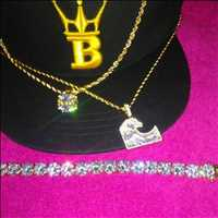 Bling bling tennis chain and hip hop pendants for sale from Hip Hop Bling