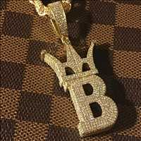 Custom chains custom pendants, drench yourself in gold from hip hop bling