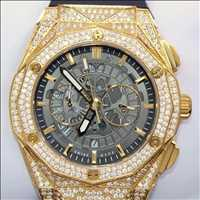 Finely crafted bezel watch, make it a memorable gift with Hip Hop Bling