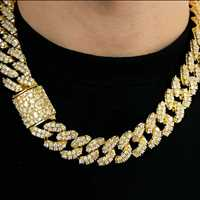 Gold Iced Out Chains For Sale on Hip Hop Bling