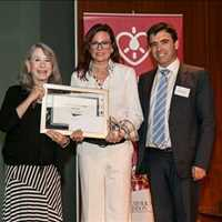 Crites receives 'Patient Innovation' award from Harvard Professor
