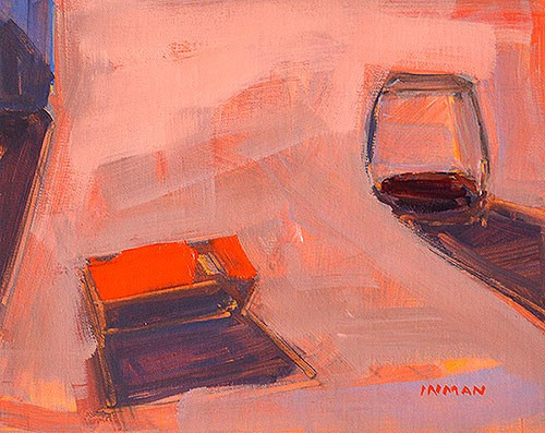 """""""The Party"""" original fine art by Kevin Inman"""