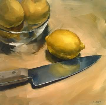 """Fate of the Lemons"" original fine art by Michael Naples"