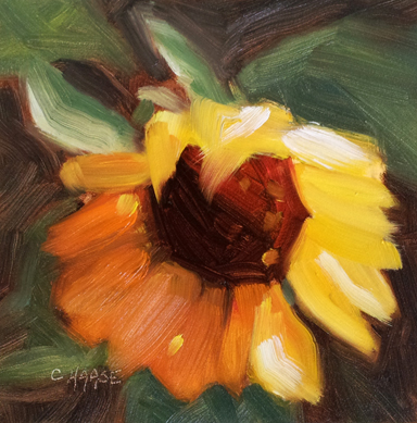 """Lucille"" original fine art by Cindy Haase"