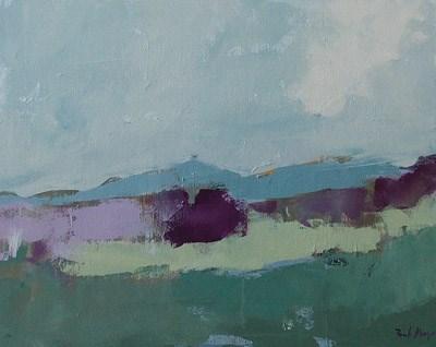 """""""Mulberry"""" original fine art by Pamela Munger"""