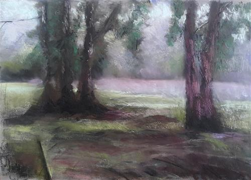 """Misty Montagu"" original fine art by Rentia Coetzee"