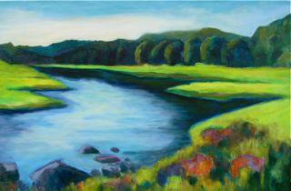"""Almost There"" original fine art by Patricia MacDonald"