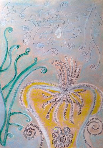"""Life under the Sea"" original fine art by Adéla Svobodová"