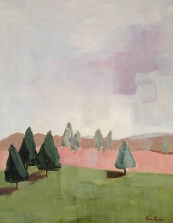 """""""Piney"""" original fine art by Pamela Munger"""