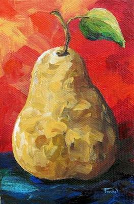 """The Pear Chronicles 011"" original fine art by Torrie Smiley"
