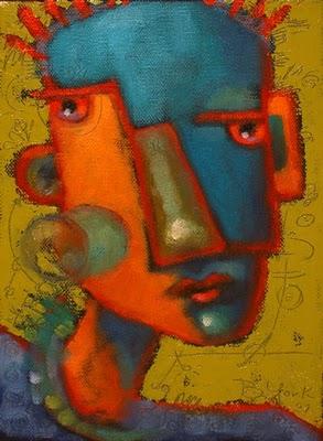 """Green Of Envy"" original fine art by Brenda York"