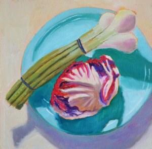"""Veggies"" original fine art by Robert Frankis"