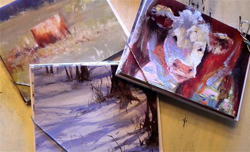 """Card Packs!"" original fine art by kay  keyes farrar"
