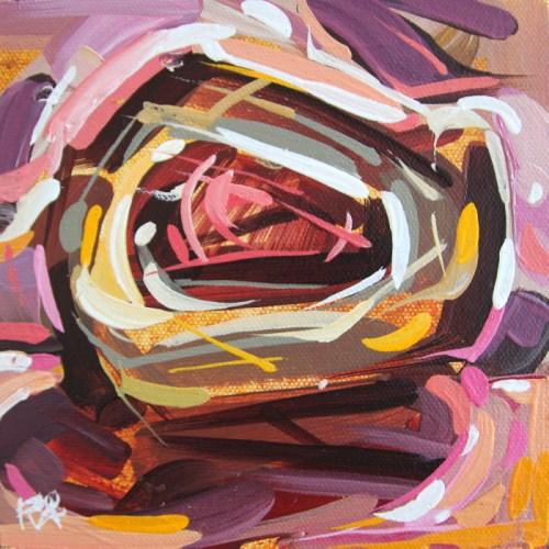 """Bird's Nest Abstraction 67"" original fine art by Roger Akesson"