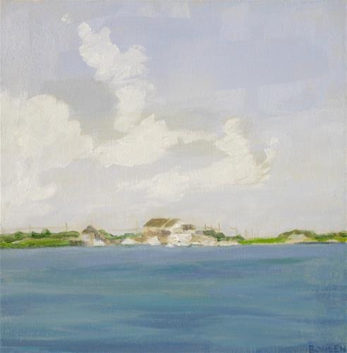 """Clouds"" original fine art by Priscilla Bohlen"