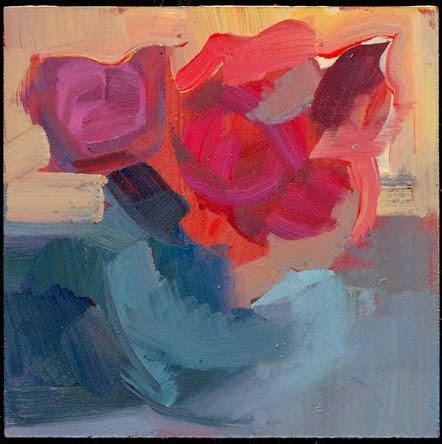 """1994 Feathery"" original fine art by Lisa Daria"