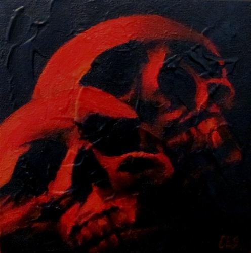"""Till Death Do Us Part"" original fine art by ~ces~ Christine E. S. Code"