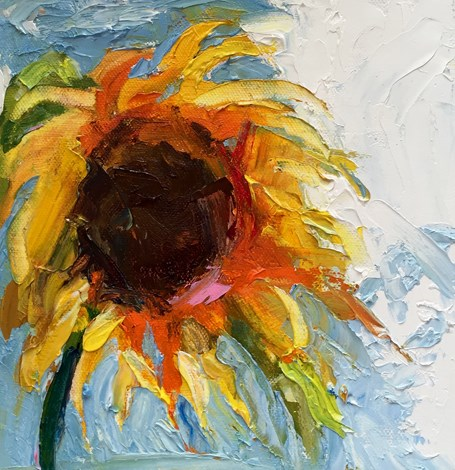 """""""I'll Sing in the Sunshine"""" original fine art by Marcia Hodges"""