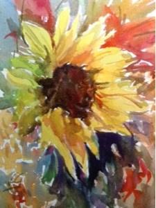 """""""Day 18 - Frenzy"""" original fine art by Lyn Gill"""