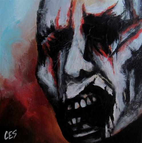 """""""By The Skin of My Teeth"""" original fine art by ~ces~ Christine E. S. Code"""