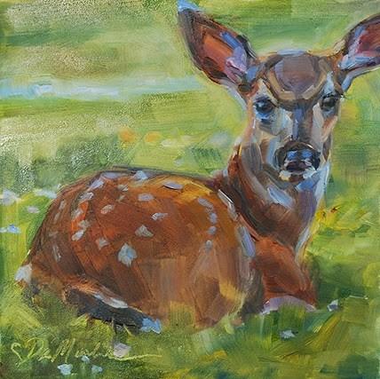 """Spring Babe"" original fine art by Carol DeMumbrum"