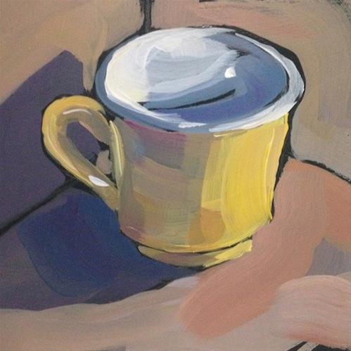 """Cornered Mug"" original fine art by Kat Corrigan"