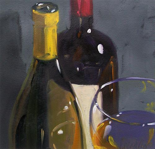 """wino8"" original fine art by Brandi Bowman"
