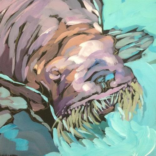 """Meet The Walrus!"" original fine art by Kat Corrigan"