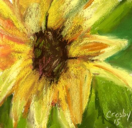"""""""Speak To The Hand"""" original fine art by Donna Crosby"""