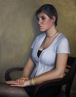 """""""Hanna"""" original fine art by Jonathan Aller"""