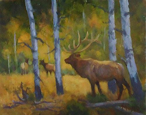 """Fall season"" original fine art by Jim Moyer"