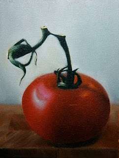 """""""Tomatski"""" original fine art by Jonathan Aller"""