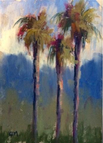 """Plein Air Painting in California"" original fine art by Karen Margulis"