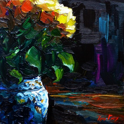 """the vase"" original fine art by Jurij Frey"
