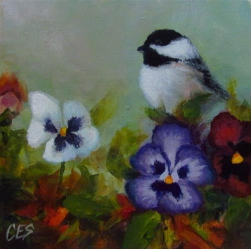 """""""Gardening Luck"""" original fine art by ~ces~ Christine E. S. Code"""