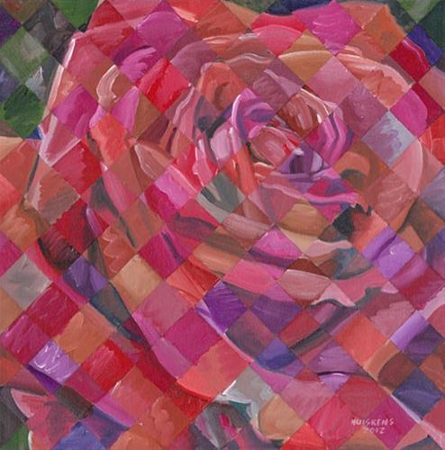 """Rose No. 8"" original fine art by Randal Huiskens"