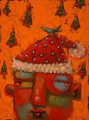 """Woodland Elf"" original fine art by Brenda York"